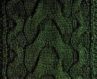 Узоры с косами для вязания крючком