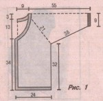 Сетчатая кофта с регланом