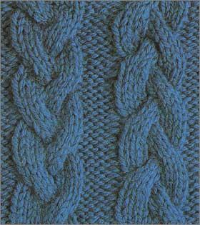 вязание схемы узоров косы