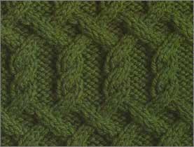 Узоры кос для вязания спицами