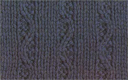 схемы узоров коса Узор вязания