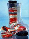 Вязаные носки для мальчиков