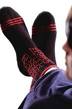 Вязаные классические носки
