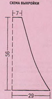 Яркое вязаное пончо с капюшоном