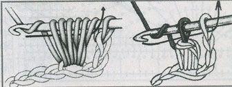 Вязаная ажурная кофточка